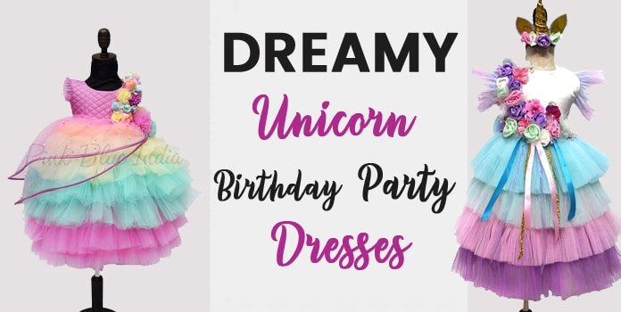 Unicorn Birthday Party Dress, Unicorn Clothes Unicorn Girls Outfits