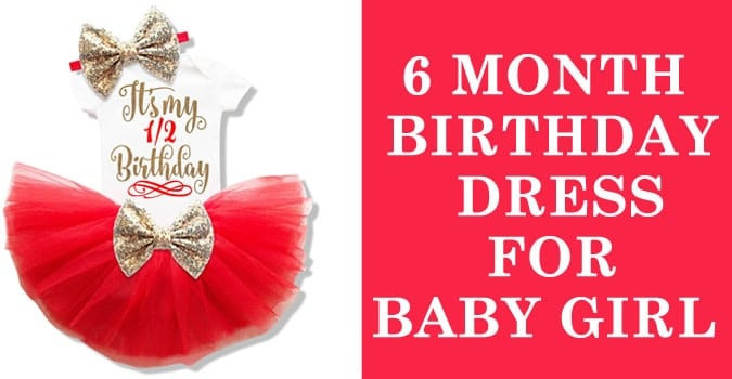Baby Girl 6 month Birthday Dress – Birthday Outfit Online