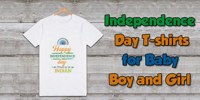 Independence Day Special T-shirts Design for Baby Boy and Girl