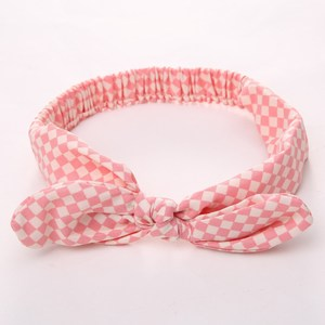BowKnot Baby Headband Geometric Pattern, Baby Girl Bowknot Headband
