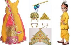 How to Dress up Your Child As Radha and little Krishna This Janmashtami 2018