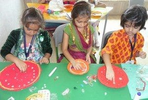 Decorate a Rakhi Thali' Competition
