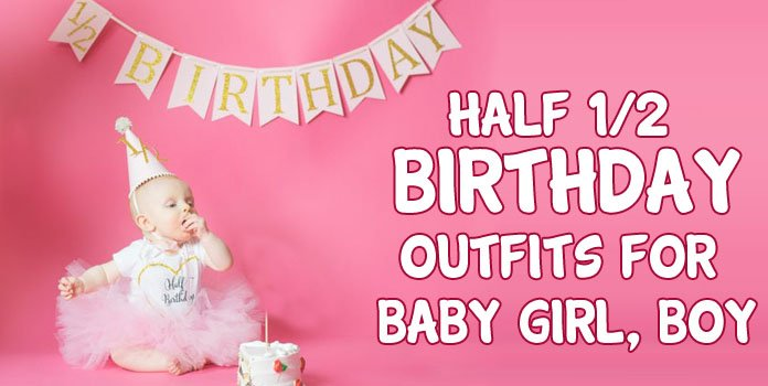 Half Birthday Onesie - 1/2 Birthday Baby Clothes - Half Birthday Outfits