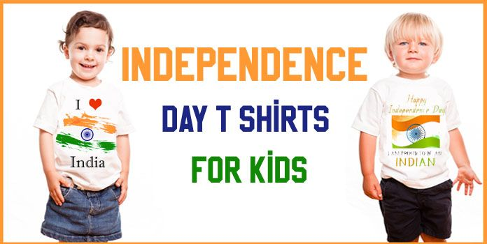 Indian Independence Day Kids T Shirts, Baby Tricolor T Shirts