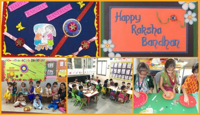 Raksha Bandhan Activities for Preschool - Rakhi Ideas For kids