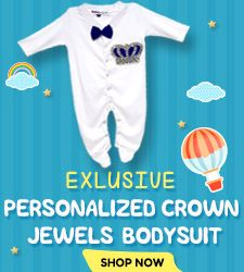 Custom Baby Boy Bodysuit - Newborn Baby Coming Home Crown Jewel Outfit - baby Shower gift
