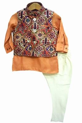 Kurta Pajama for 1 Year Old Baby Boy Ethnic Jacket