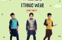 Latest Kurta Pajama Style for 1 Year Boy   Children's Kurta Pyjama with Jackets