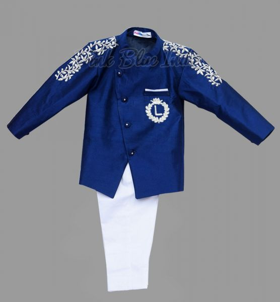 Baby Boy Ethnic Jacket with Pajama