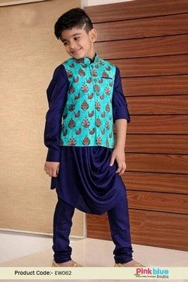 Wedding Designer Kurta Pajama for 1 Year old Boy