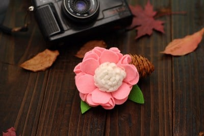 baby flower girl hair clips, infant hair accessories