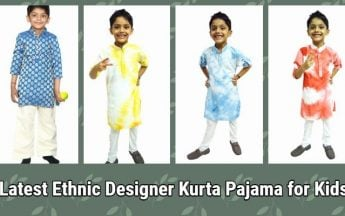 Latest Ethnic Designer Kurta Pajama for Kids – Indian Wedding Wear
