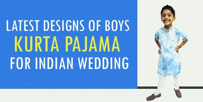 Boys Kurta Pajama - Indian Wedding Kids Kurta Pajama