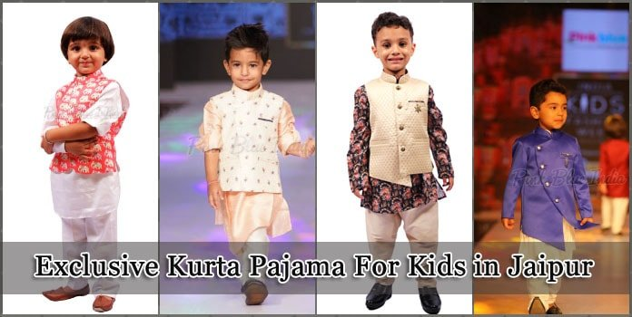 Kids Kurta Pajama Jaipur - Boys Ethnic Wear - baby boy Indian Wear