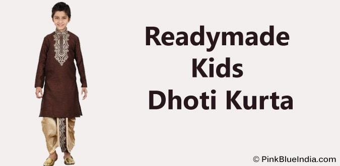Readymade Kids Dhoti Kurta