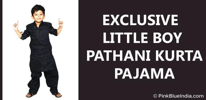 Little Boy Pathani Kurta Pajama - Children Kurta Pajama Jaipur