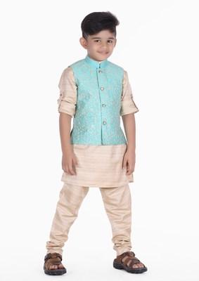 Boys kurta Pyjama Set Online India - baby boy ethnic waistcoat