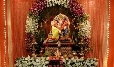 Ganesh Pooja Flower Decoration - Kids Activities