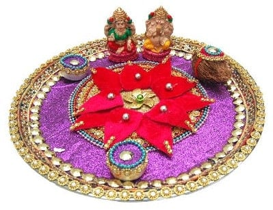 Ganesh Chaturthi Aarti Plate