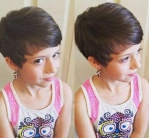 Baby Girl Short Pixie Hairstyles