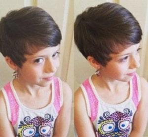 Baby Girl Short Pixie Hairstyles