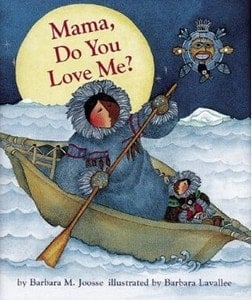 Mama, do you love me baby first book
