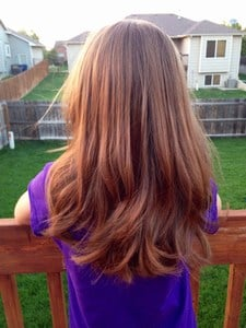 Baby Girl Smooth Layers Hair styles