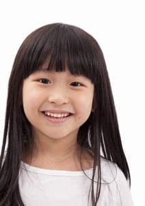 Toddler Girl Straight Cut with Fringes Hair styles
