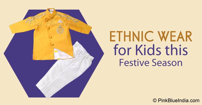 Newborn Baby Ethnic Jacket with Pajama