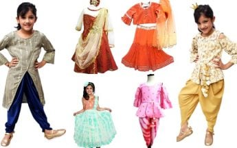 Indo Western Dresses for Kid Girl for Different Occasions