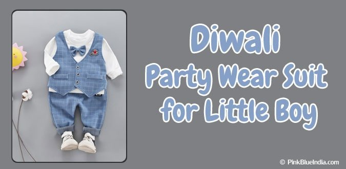 Little Boy Diwali Party Wear Suit - Kids formal Wear