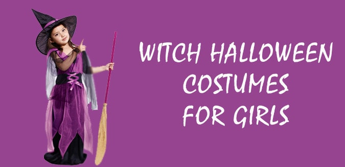 Buy Witch Halloween Costumes for Girls - Kids Witch Halloween Clothes