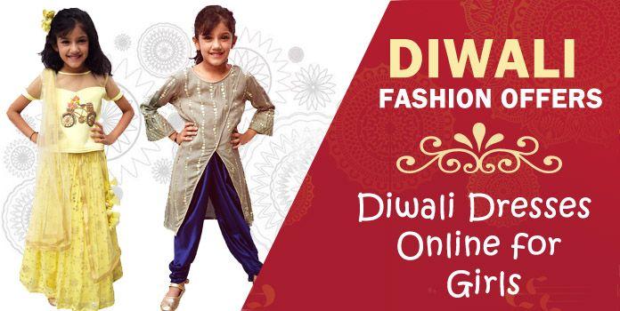 Baby Girl Diwali Dresses, Diwali Kids Dress Online