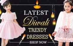 Diwali Kids Dresses 2019 Online Offer | Diwali Special Girls Outfits