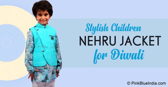 Diwali Children Nehru Jacket - Baby Boy Modi Jacket