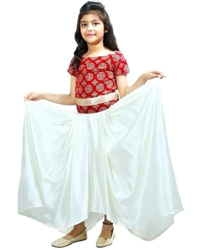 Indo western Gown to Wear in Birthday Party for Baby Girls