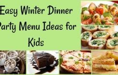 Easy Winter Dinner Party Menu Ideas for Kids | Indian Winter Recipes