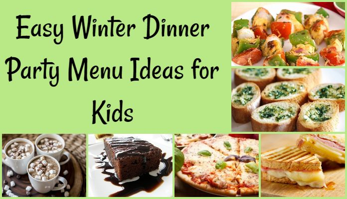 Winter Dinner Party Menu And Recipes Ideas For Indian Kids