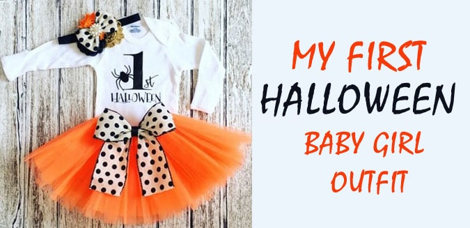 My first Halloween Baby Girl Outfit - baby girl halloween costumes