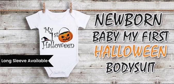 baby first halloween bodysuit, My first halloween Romper