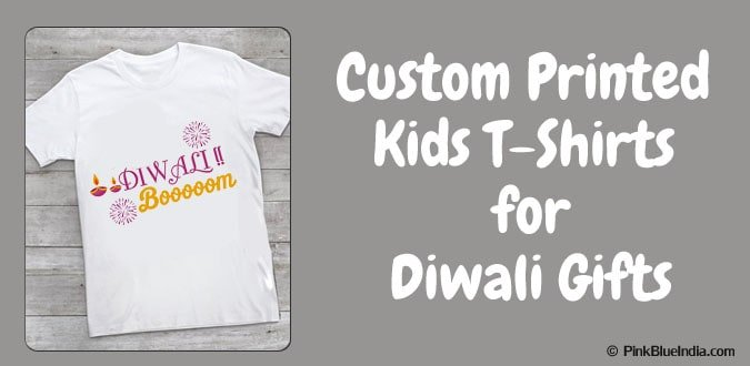 Personalized Diwali Kids T Shirts