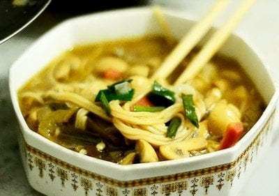 Soupy Noodles kids Indian Winter Recipe