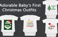 Adorable Baby's First Christmas Onesie – Newborn Christmas Outfit