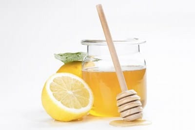 Honey with Lemon Juice toddler baby sore throat home remedy