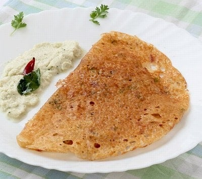 Kids Breakfast Recipe Carrot Oat Dosa