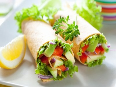 chapati roll Kids Breakfast Recipe