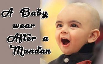 A Baby wear After a Mundan? Head Tonsure Ceremony Dresses
