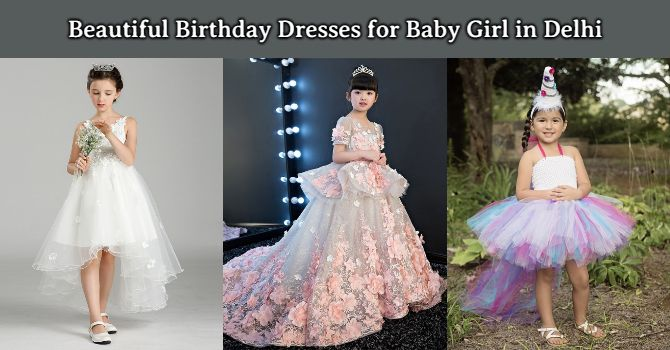Baby Girl Birthday Dresses in New Delhi