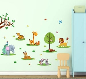 children Canvas Wall Decor Stickers Online