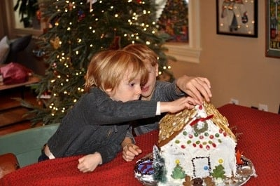 Decorate the House Christmas Activities babies